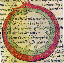 Drawing by Theodoros Pelecanos, in the alchemical tract Synosius (1478)