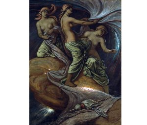 Fates Gathering the Stars by Elihu Vedder, 1887