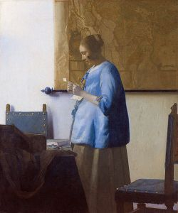 Vermeer Woman Reading