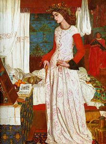 Queen Guinevere William Morris This work of art is in the public domain