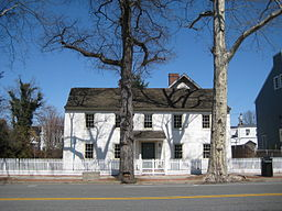 Raynham Hall, historic home of the Townsend family.  Visitors and employees of the museum still encounter spirits from the bygone days of the Revolutionary War.