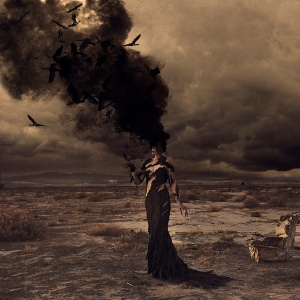 Wild Birds Burning © 2013 Brooke Shaden. All Rights Reserved.  Used with permission of artist.  http://brookeshaden.com/