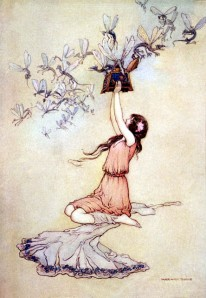 Pandora artist: Warwick Goble source: http://goble.artpassions.net/