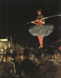 The Tightrope Walker Jean Louis Forain 1885